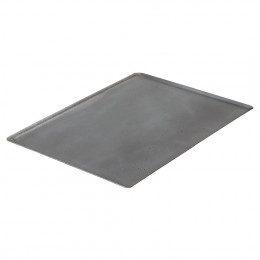 Baking tray oblique edges, steel