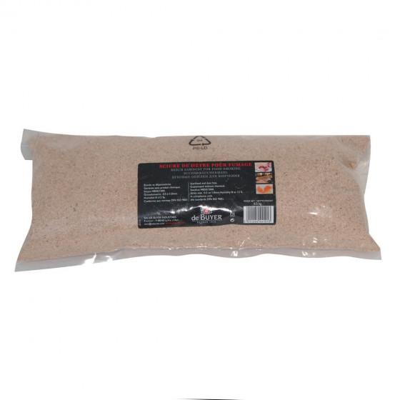 Beech sawdust for smoker oven