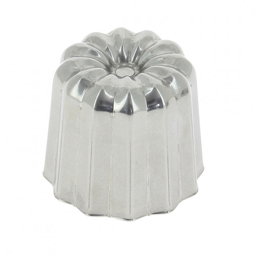 Fluted mould Canelés Bordelais, stainless steel