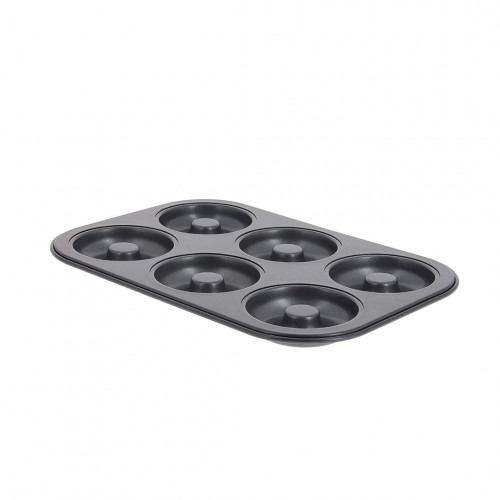 Tray mini Savarins, non-stick steel