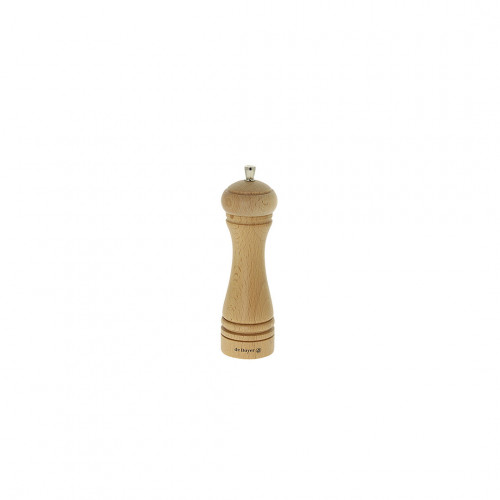 Pepper mill wood 18 cm JAVA