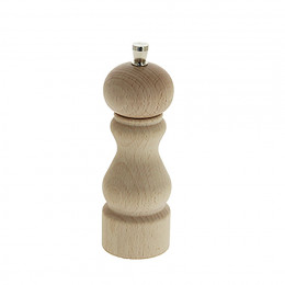 Universal mill for salt, pepper and spices wood 14 cm RUMBA
