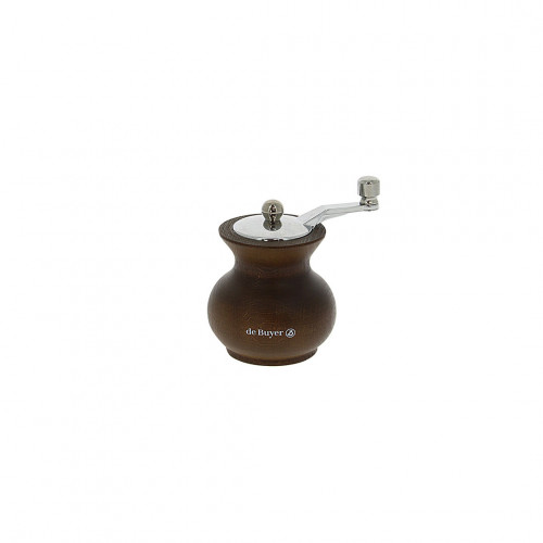Universal mill for salt, pepper and spices with handle wood 7 cm BOOGIE