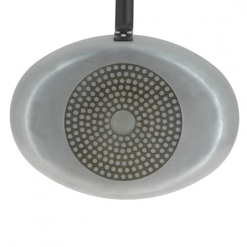 Poêle à poisson ovale avec couvercle en verre CHOC RESTO INDUCTION