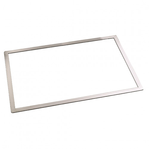 Rectangular biscuit frame, stainless steel