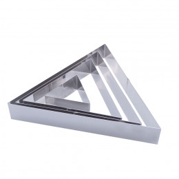ST/STEEL TRIANGULAR PASTRY RING