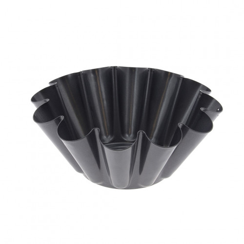 Brioche fluted mould, non-stick steel