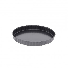 Fluted tart mould, non-stick steel