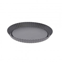 Round fruit tart mould, non-stick steel