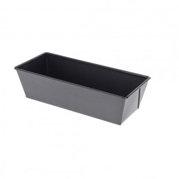 Rectangular cake mould, non-stick steel