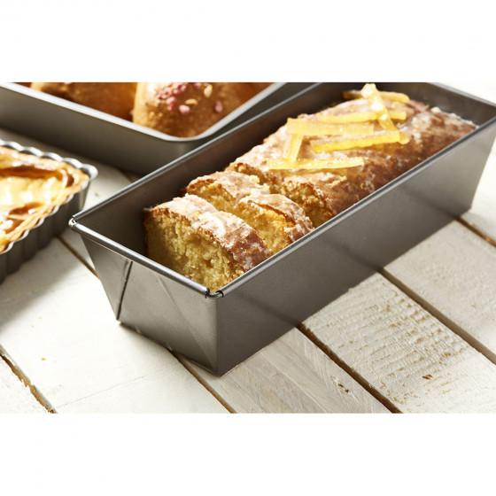 Moule à cake bords pliés, acier antiadhésif