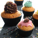Lot 6 moules muffins/cup cakes MOUL FLEX, silicone