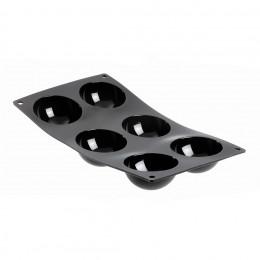 Plaque mini demi-sphères MOUL FLEX, silicone