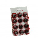 SET CATERER : 12 ASSORTED NOZZLES & STAND
