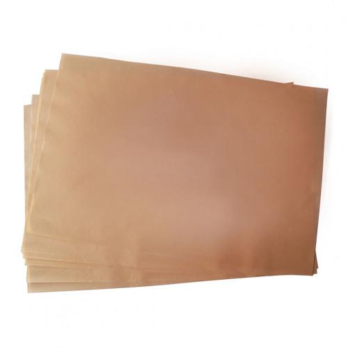 Papier de cuisson siliconé non blanchi