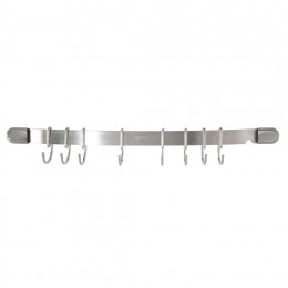 Barre de suspension inox 8 crochets