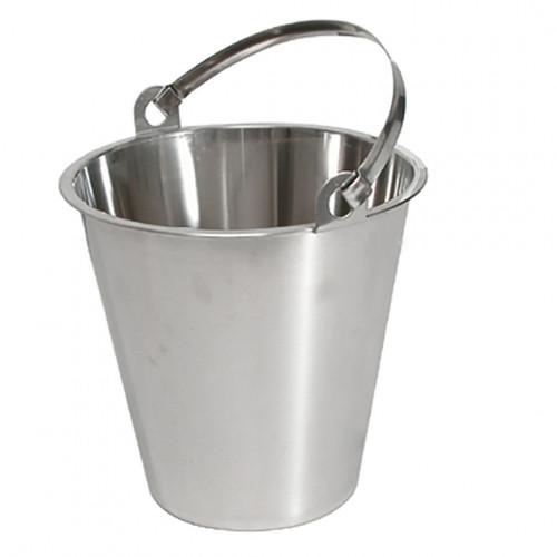 Bucket, stainless steel