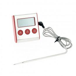Thermomètre digital à sonde avec fonction minuteur