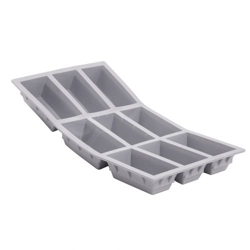 Tray rectangular cakes ELASTOMOULE, silicone foam