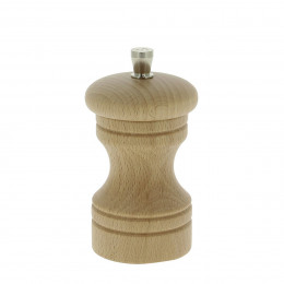 Pepper mill wood 10 cm PASO