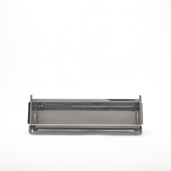 Rectangular foldable long baking mould GEOFORME, stainless steel