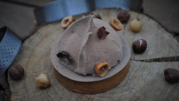 Hazelnut tarts